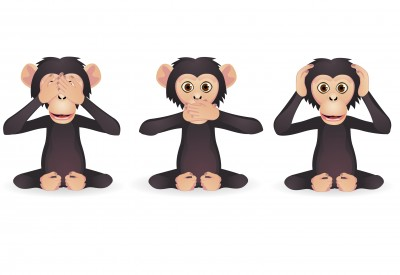 monkeys see hear no evil